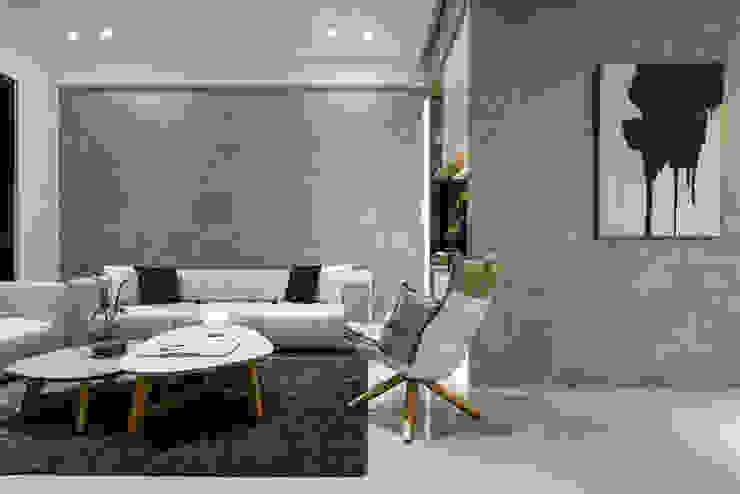 客廳 现代客厅設計點子、靈感 & 圖片 根據 Fertility Design 豐聚空間設計 現代風