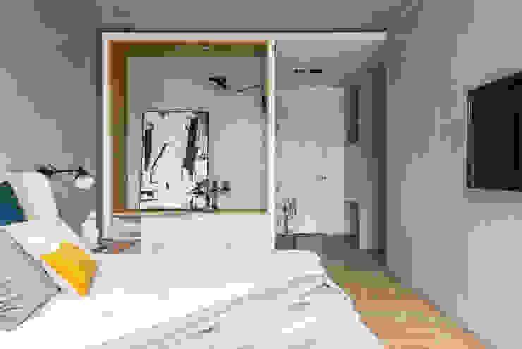 充足的收納空間讓臥室看起來整齊乾淨 根據 Fertility Design 豐聚空間設計 現代風