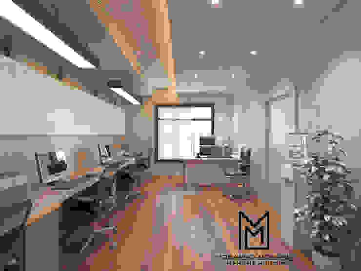 مقر ادارى الشيخ زايد من Mohannd design studio إنتقائي