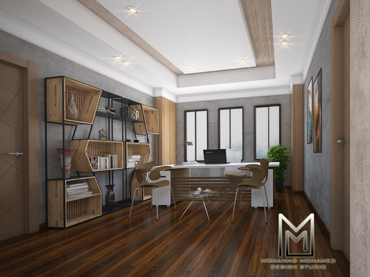 مقر ادارى بالشيخ زايد من Mohannd design studio إنتقائي