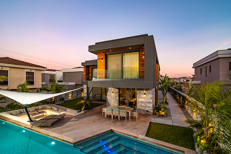 Villa Duo Başak Akkoyunlu Design Villa Ahşap Ahşap rengi