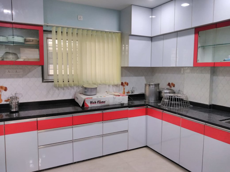 Kitchen Homagica Services Private Limited KitchenCabinets & shelves