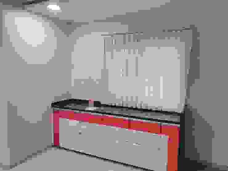Extended Platform In Kitchen Homagica Services Private Limited KitchenStorage