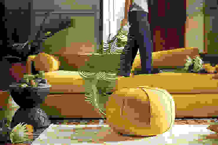 modern  by Sunbrella, Modern Textile Amber/Gold