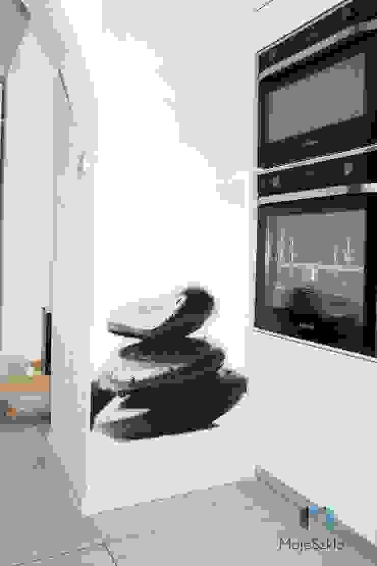 Paredes y pisos de estilo moderno de Moje Szkło Moderno Vidrio