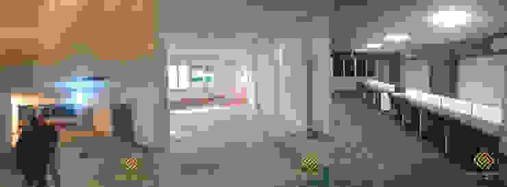 Minimalist corridor, hallway & stairs by Elite Glamour Design & Decoration Company Minimalist
