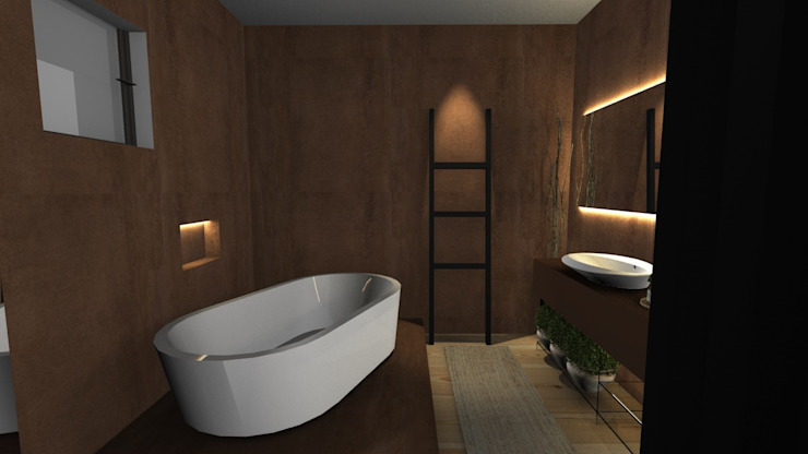Modern Bathroom by Form Arquitetura e Design Modern