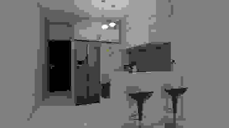 Diseño y decoración de interiores Pereira : Cocinas integrales de estilo  por Arkiline Arquitectura Optativa, Moderno