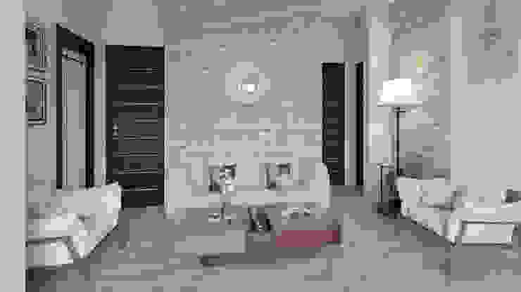 Moderne Wohnzimmer von Arkiline Arquitectura Optativa Modern