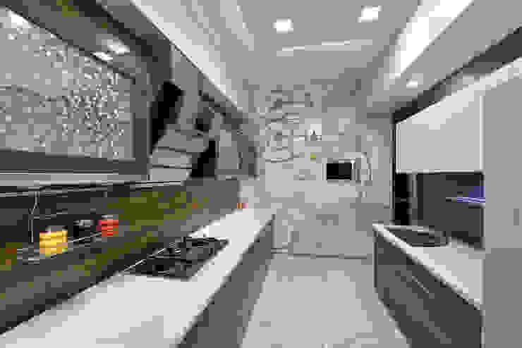 Designer's Fantasy Modern kitchen by Ar. Milind Pai Modern