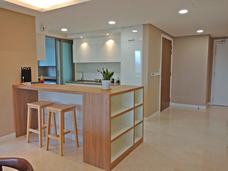 Kitchen by Astin D Concept World Sdn.Bhd Modern Plywood