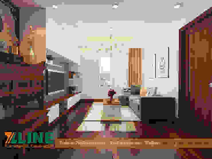Modern living room by NỘI THẤT XLINE Modern Engineered Wood Transparent