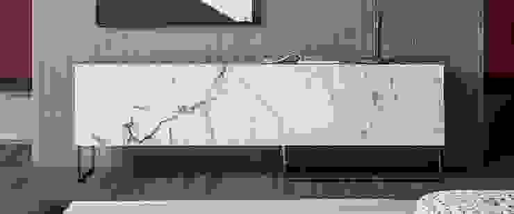 Madia ante marorizzate L&M design di Marelli Cinzia Soggiorno minimalista