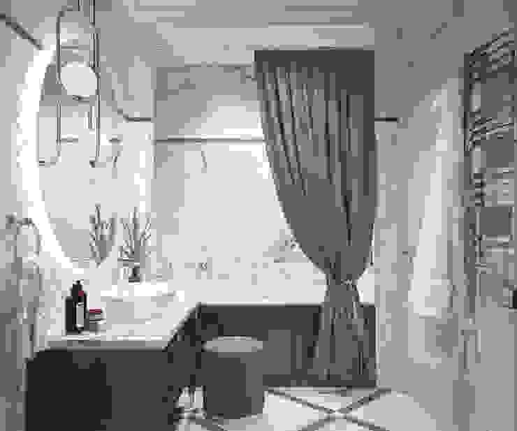 Phòng tắm phong cách kinh điển bởi Инна Азорская Kinh điển