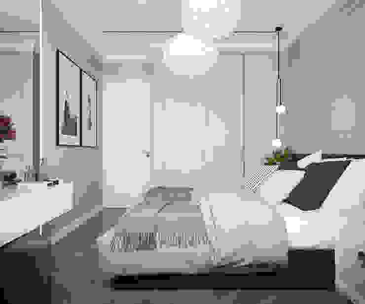 Phòng ngủ phong cách kinh điển bởi Инна Азорская Kinh điển