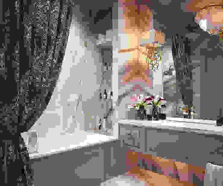 """""""Барин Хаус"""" Ванная в колониальном стиле от Инна Азорская Колониальный"""