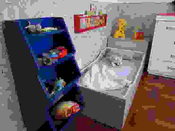 JuBa - Arquitetando Ninhos Recámaras para niños Multicolor