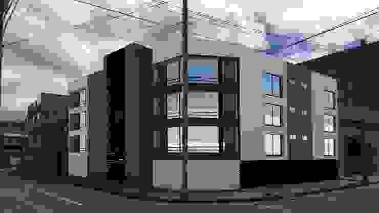 MULTIFAMILIAR CUEVAS 1 de FENIXARQ. Moderno Concreto