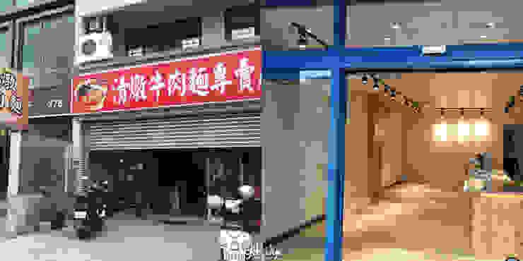 店面門口:  國家  by 業傑室內設計, 鄉村風