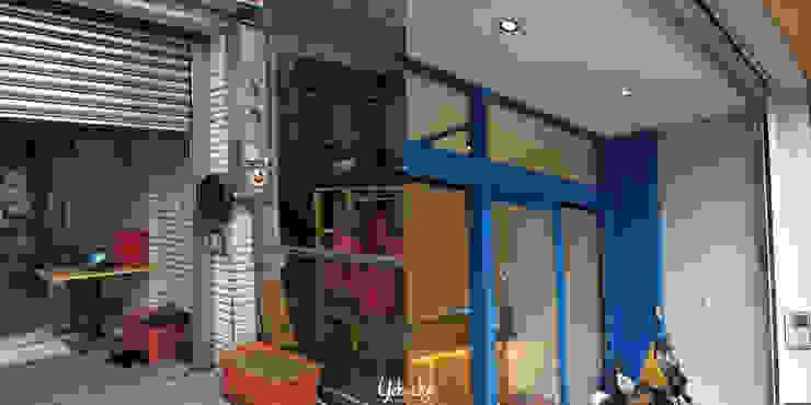 店面門框:  國家  by 業傑室內設計, 鄉村風