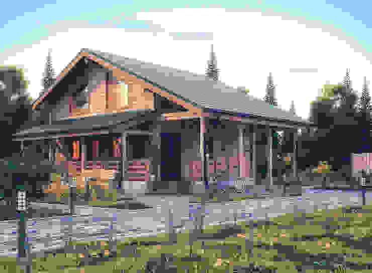 ÇAM MİMARLIK – VİLLA PROJESİ:  tarz Villa, Modern
