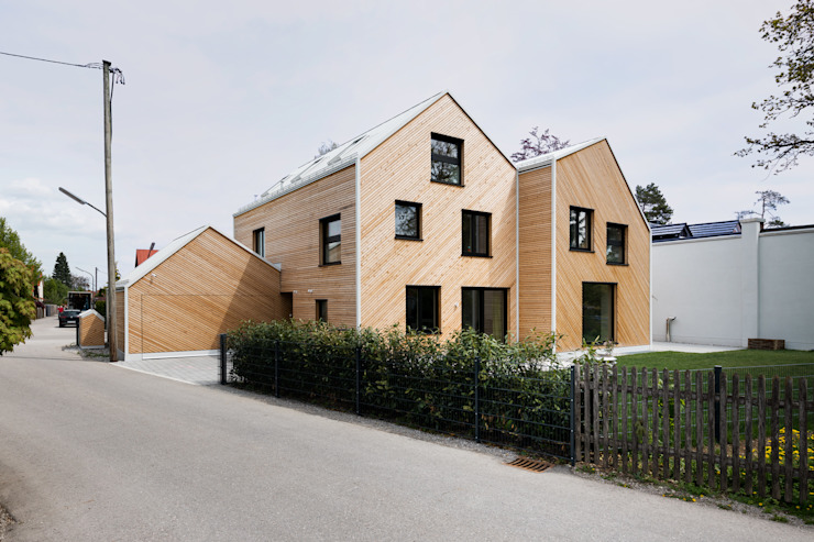Hausfuchs - Außenfassade IFUB* Holzhaus Holz