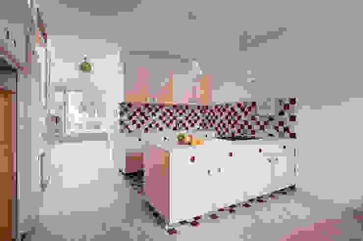 Hausfuchs - Haus Ost IFUB* Küchenzeile Holz