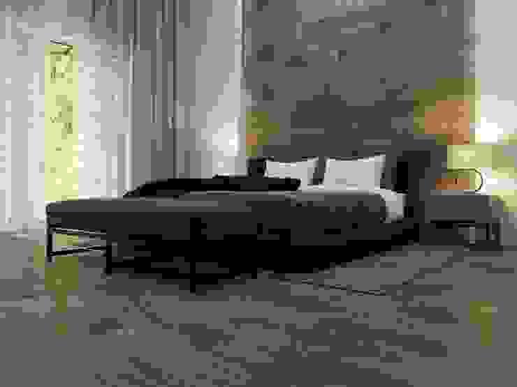 Interceramic MX Rustic style bedroom Ceramic Brown