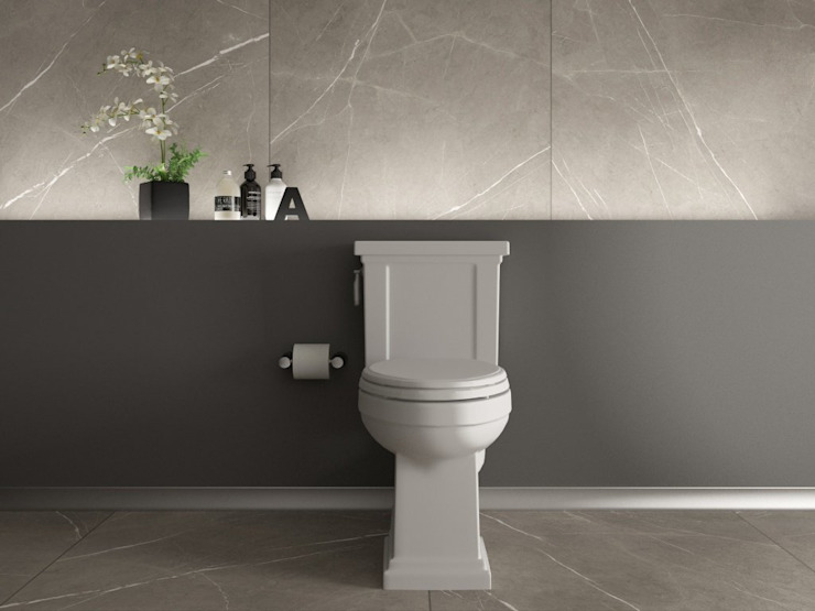 Interceramic MX Modern style bathrooms Ceramic Grey