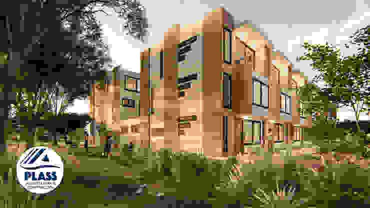 Conjunto residencial Reserva el Lago Casas modernas de PLASS Arquitectura & Construcción Moderno