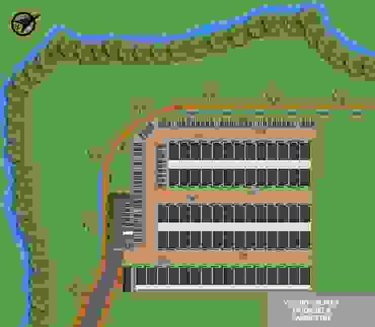 Reserva el Lago Ubicación. Casas modernas de PLASS Arquitectura & Construcción Moderno