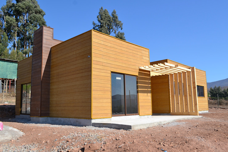 Vivienda Mediterráneo Nativa 85m2 de Casas Metal Mediterráneo Aglomerado