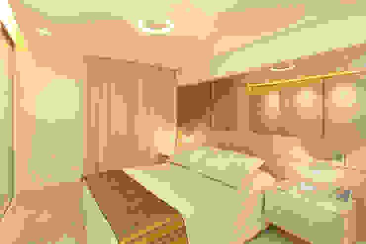 Modern style bedroom by Célia Orlandi por Ato em Arte Modern