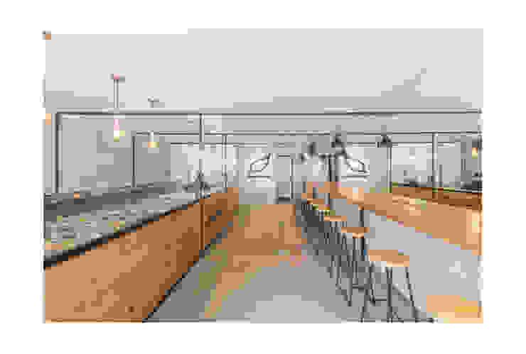 Salad Lab Comedores de estilo escandinavo de AA Arquitectura y Paisaje Escandinavo