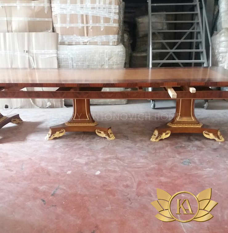 Unique Table and Furniture Designs Made Exclusively by Luxury Antonovich Design