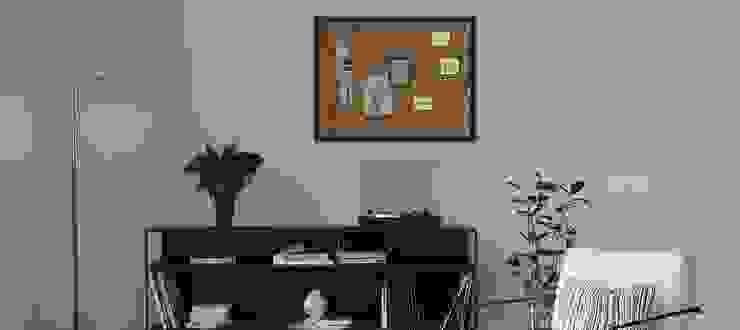 Tablero de notas de corcho Go4cork Oficinas y tiendas Corcho Acabado en madera