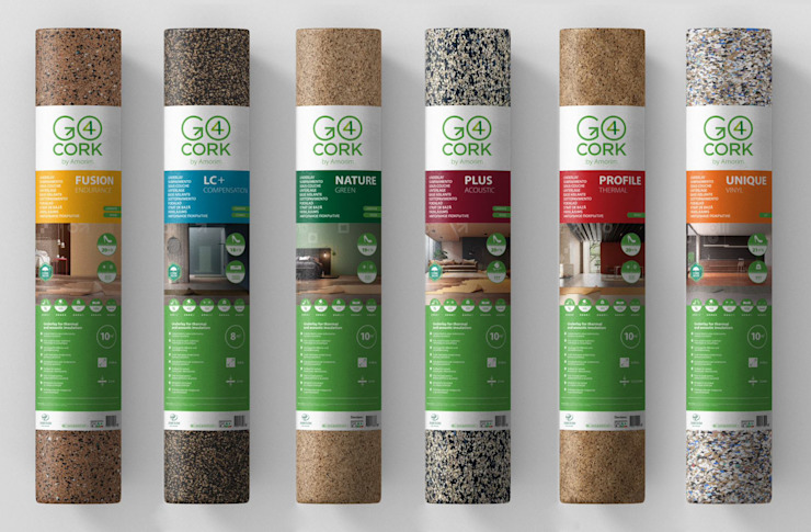 Rolls of product Go4cork Walls & flooringWall & floor coverings Cork