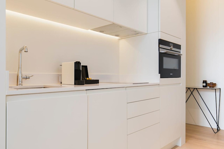 Cozinha Inêz Fino Interiors, LDA Hospitais minimalistas