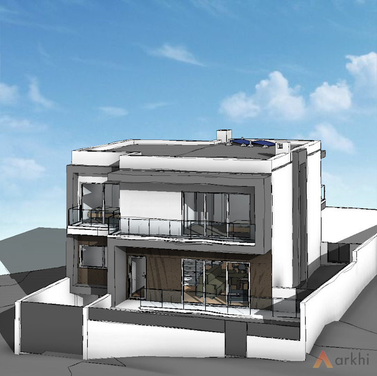 arkhi - arquitetura Villas Stone Grey