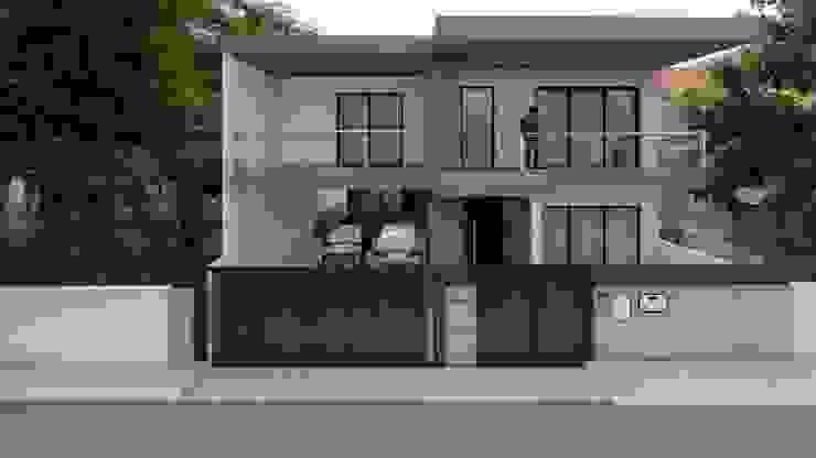 arkhi - arquitetura Parcelas de agrado Concreto Gris
