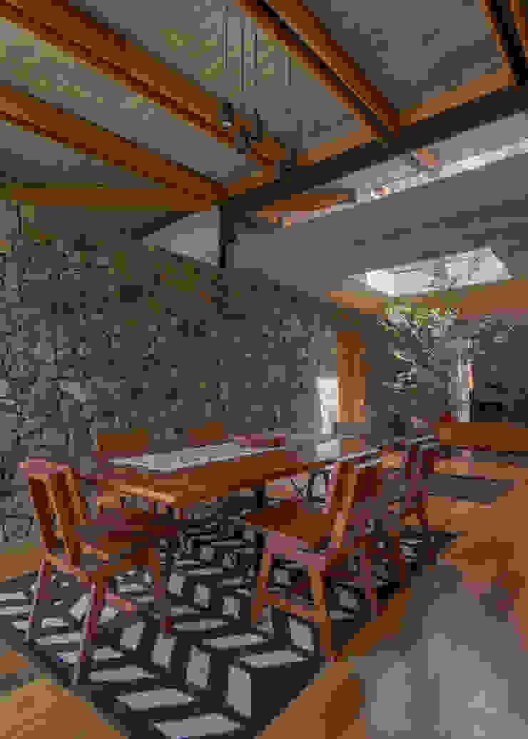 Saavedra Arquitectos ห้องทานข้าว หิน