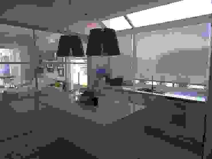 Cocina de Estudio Dillon Terzaghi Arquitectura - Pilar Clásico Hierro/Acero