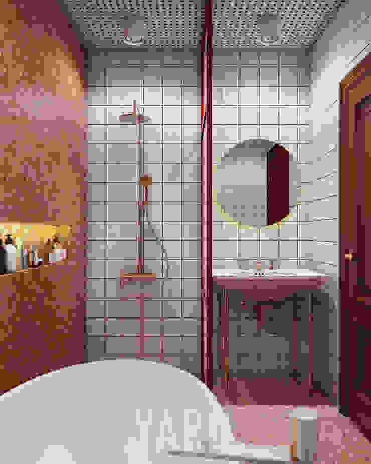 Bathroom: ทันสมัย  โดย studio yard, โมเดิร์น กระเบื้อง