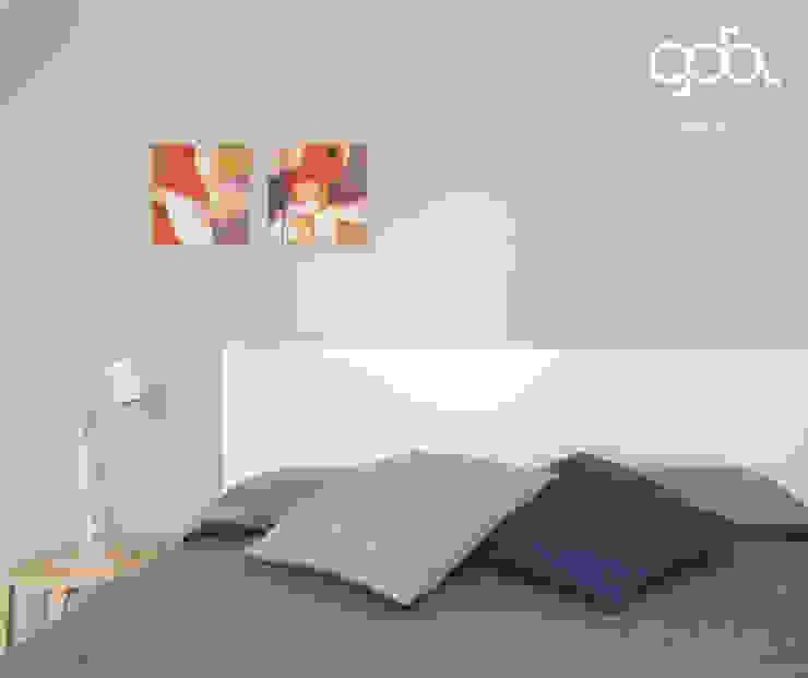 Chambre moderne par giovanni gugliotta architetto Moderne
