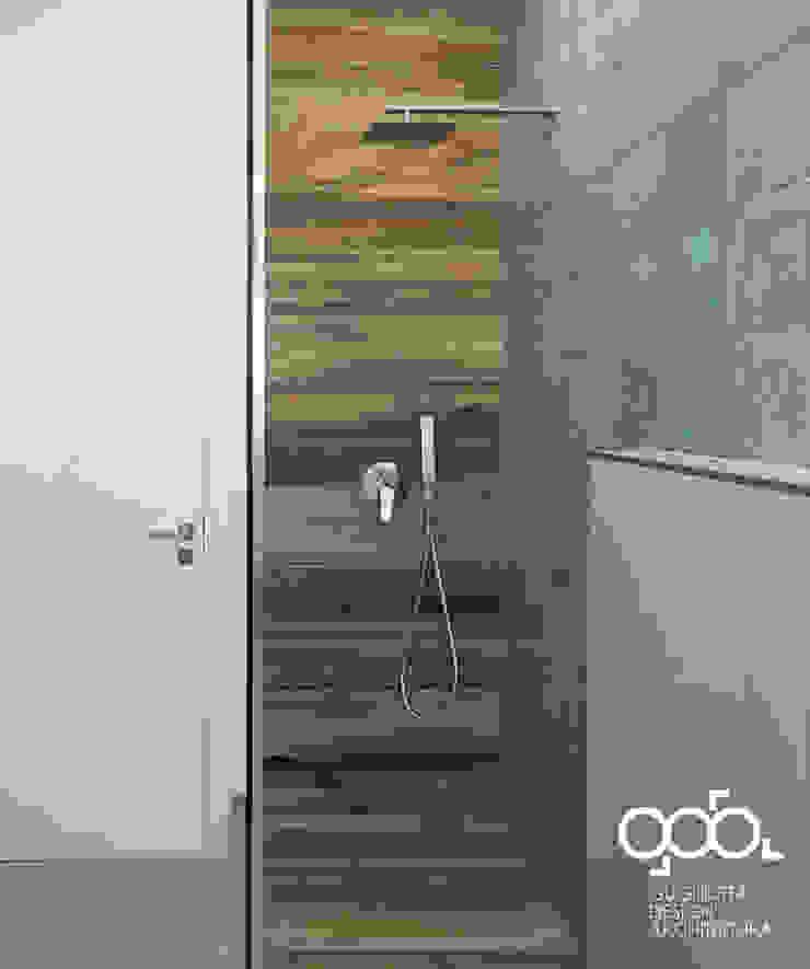 現代浴室設計點子、靈感&圖片 根據 giovanni gugliotta architetto 現代風 磁磚