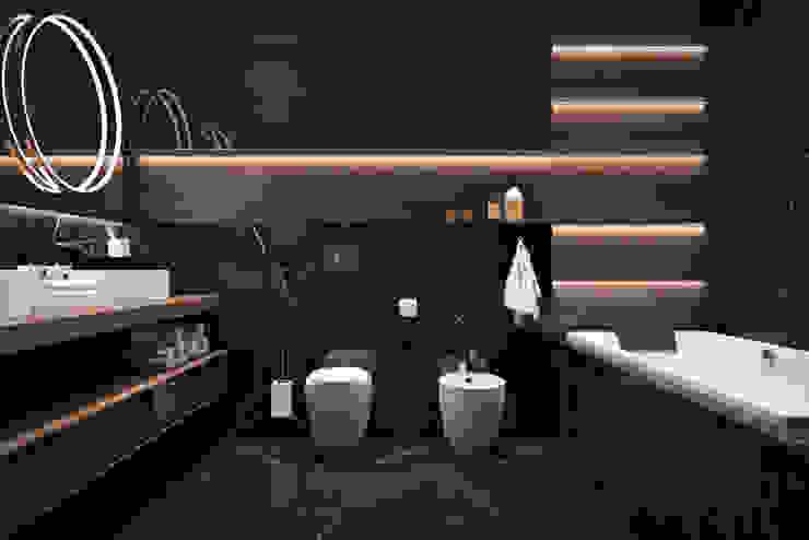 ЖК «ReForm (РеФорм)» Ванная комната в скандинавском стиле от 'INTSTYLE' Скандинавский Плитка