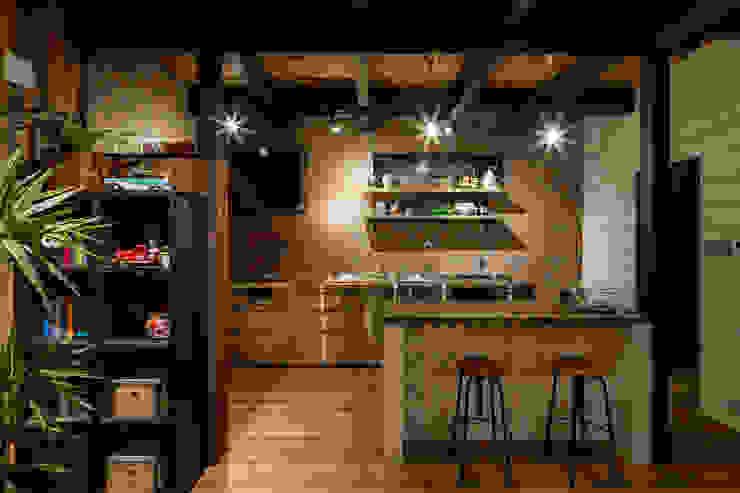 dwarf Cucina in stile rustico