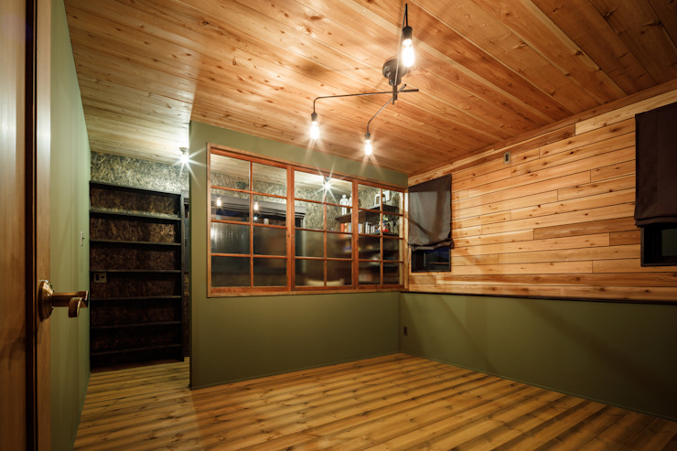 dwarf Camera da letto in stile rustico