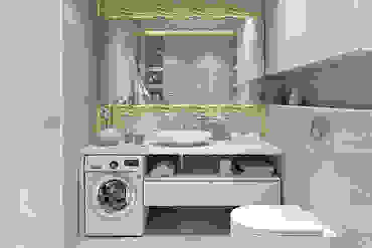 ЖК «Wellton park (Веллтон парк)» Ванная комната в скандинавском стиле от 'INTSTYLE' Скандинавский Плитка
