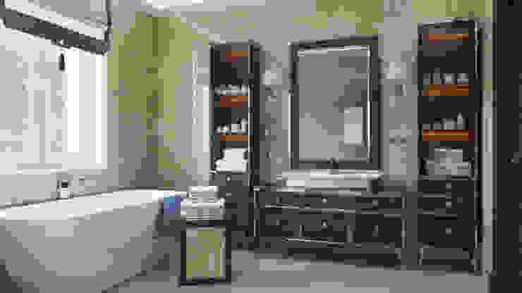 Baños de estilo clásico de 'INTSTYLE' Clásico Azulejos
